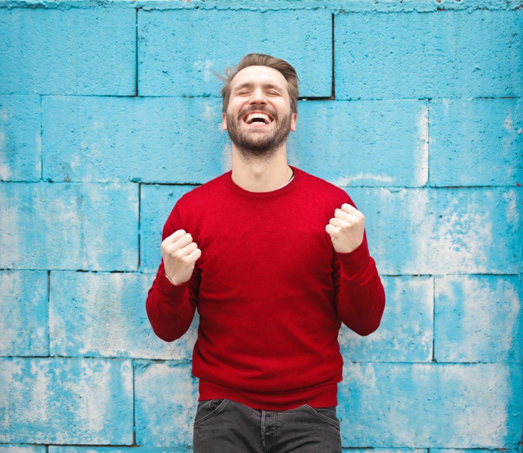 Über Erfolge muss man sich freuen - gerade dann, wenn man zur Prokrastination neigt
